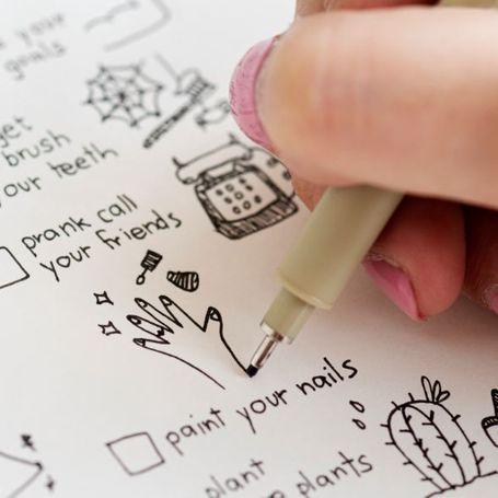 Il metodo Bullet Journal: produttivi in modo creativo